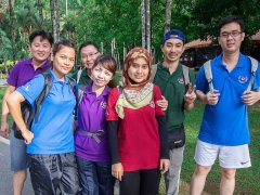 KMU Team Building - Skytrex Adventure on 12 June 2015